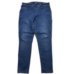 Denver Hayes Mia mid rise skinny denim jeans 16